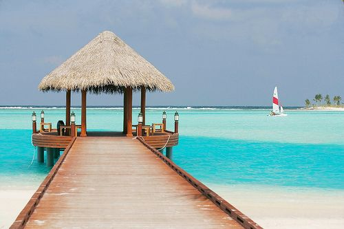 ahhhWater,  Thatched Roof, Favorite Places, Beautiful And Or, Summer Beach, Beautiful Places, Places I D, Things, Travel