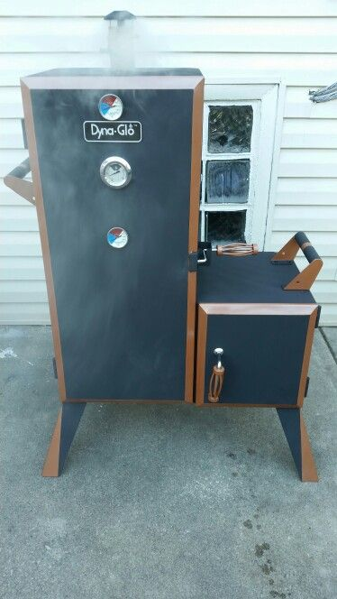 dyna glo vertical smoker mod dyna glo smoker mod. Black Bedroom Furniture Sets. Home Design Ideas