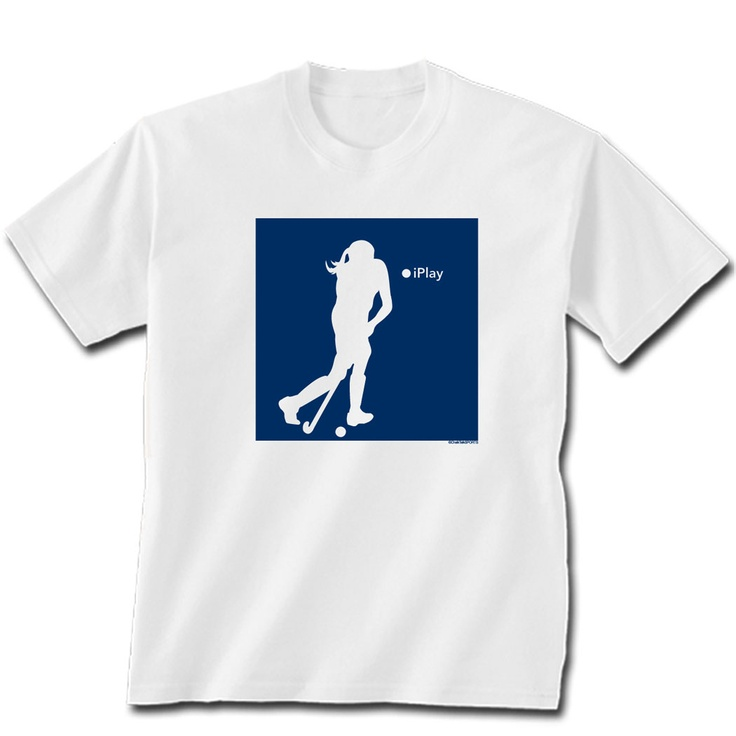 iPlay Field Hockey T-Shirt: Hockey Tshirt, Fields Hockeylif, Hockey Gifts, Fields Hockey Lif, Hockey Marketing, Field Hockey, Hockey T Shirts, Hockey Clothing