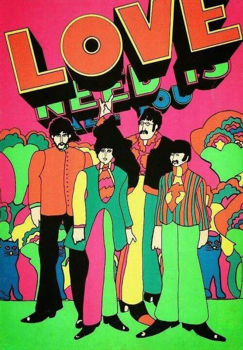☮ American Hippie Music ☮ Beatles .. All You Need Is Love