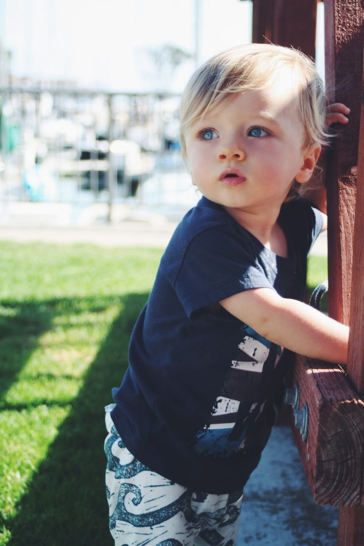 Toddler Boy Long Blonde Hair Surfer: Cute Kids, Baby Boy Style, Baby Style, Baby Salt Water