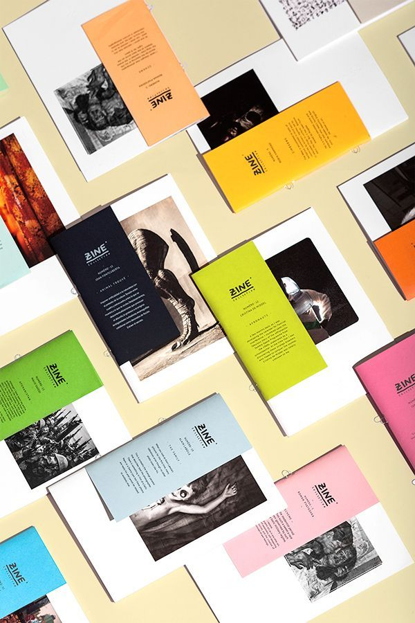 Zine Collection - Editions Bessard on Editorial Design Served