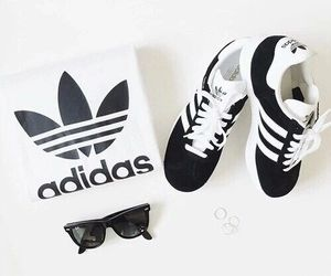 adidas, shoes, and white εικόνα