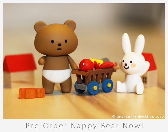 Image of Nappy Bear & Naughty Rabbit