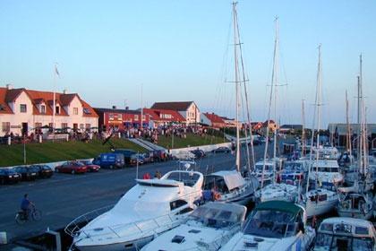 Port of Vesterø on the island of Læsø