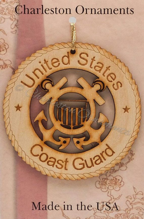 US+COAST+GUARD+Ornament++Coast+Guard+by+PalmettoEngraving+on+Etsy
