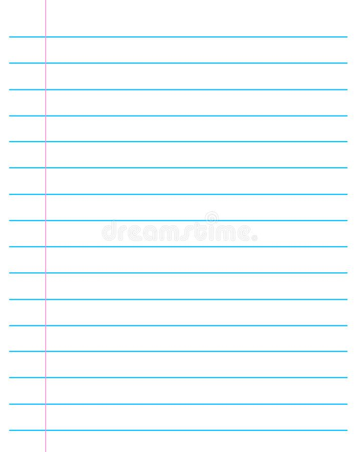 Blank Lined Paper Template Notebook Paper Template Paper Template Lined Paper