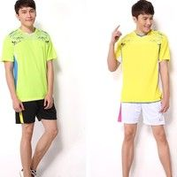 NEW #Men's #badminton clothing suits running #sportswear and leisure #clothing 2 Colors 6 Size K_SMA007