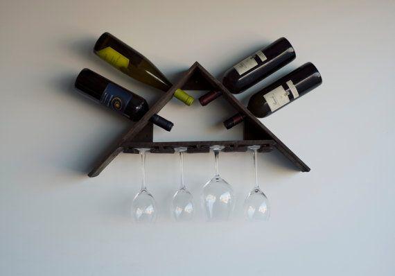 Casier à vin bois Grange recyclée