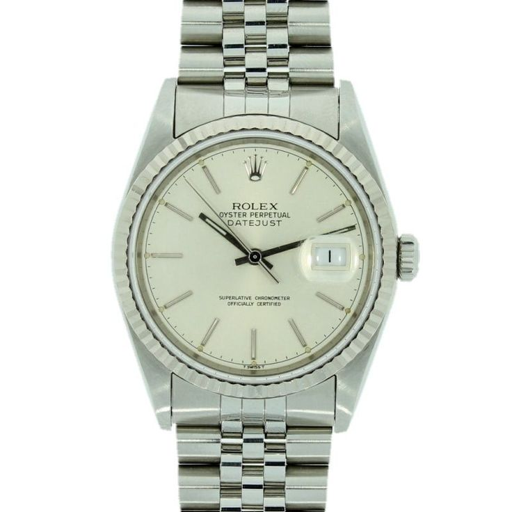 Mens Pre Owned Rolex Oyster Perpetual Datejust Watch 16234 RW0084 #Rolex #Luxarywatches #Watchesofpintrest #Rolexdatejust #Rolexwatch