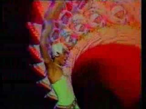 Amii Stewart - Knock on Wood - Another psychedelic retro video. That hat! That eyeshadow! And rainbow fractal effects!