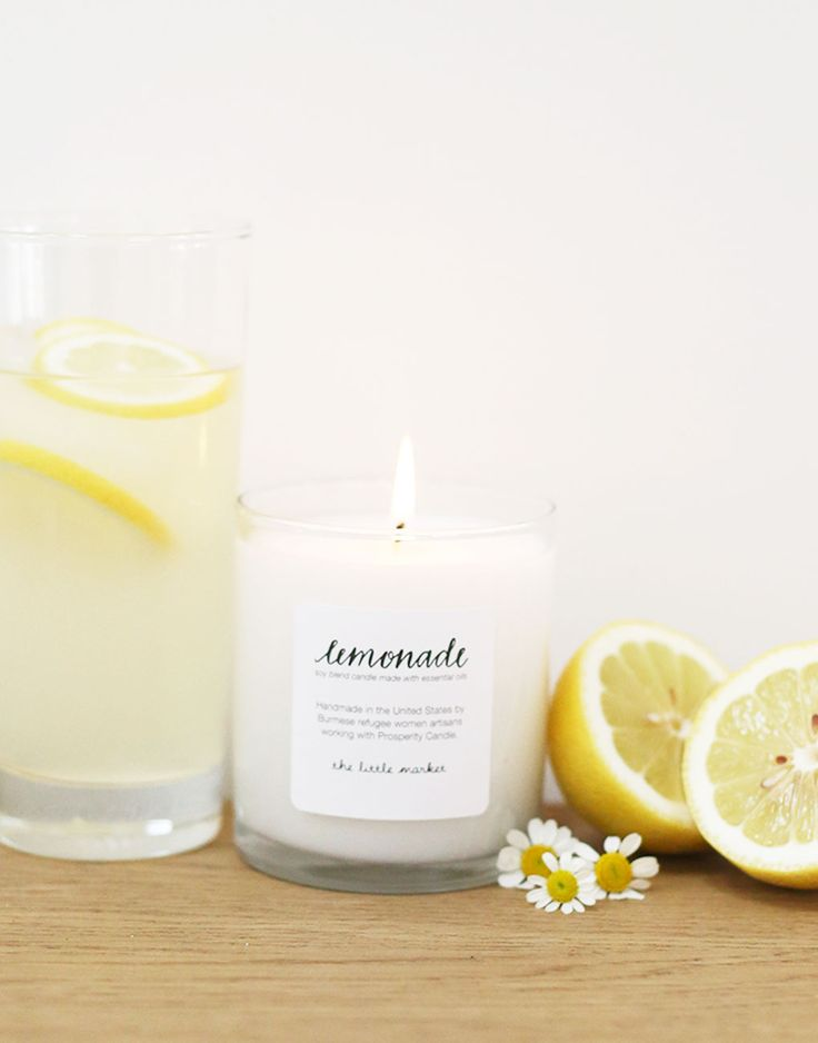 summer faves: the lemonade candle {the little market}