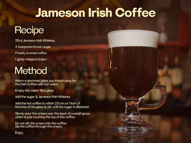 ierse koffie (met Jameson whisky) - Google zoeken