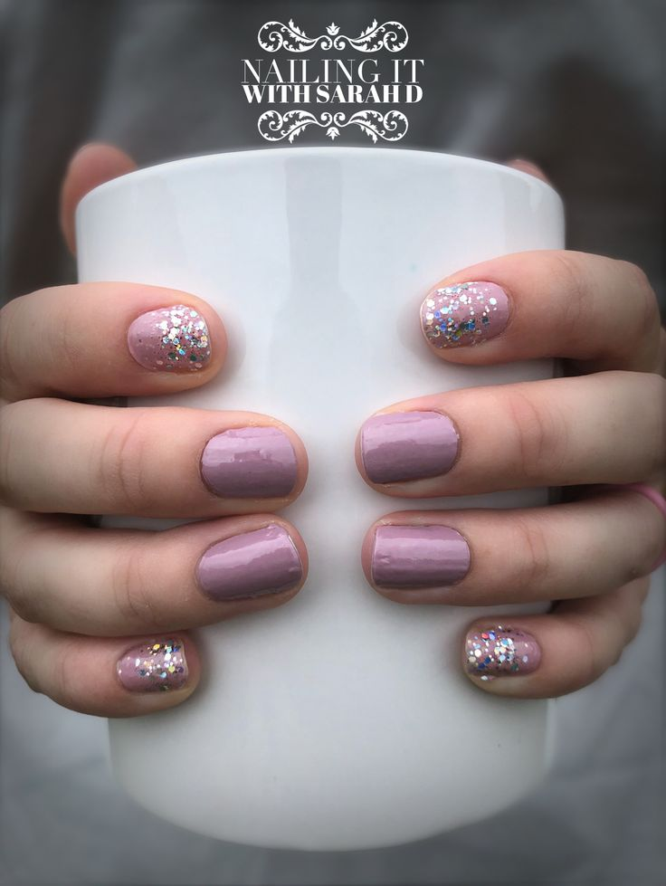 Create This Look With Manchester Mauve Amp Paris Couture Color Street Nails