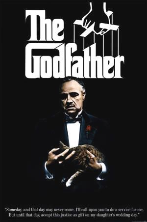 The 10 Most Famous Movie Posters of All Time - The Godfather (1972)