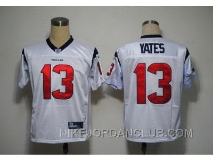 http://www.nikejordanclub.com/nfl-jerseys-houston-texans-13-yates-white-wctsb.html NFL JERSEYS HOUSTON TEXANS #13 YATES WHITE WCTSB Only $19.00 , Free Shipping!