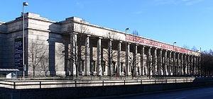 Haus der Kunst, Munich -non-collecting art museum