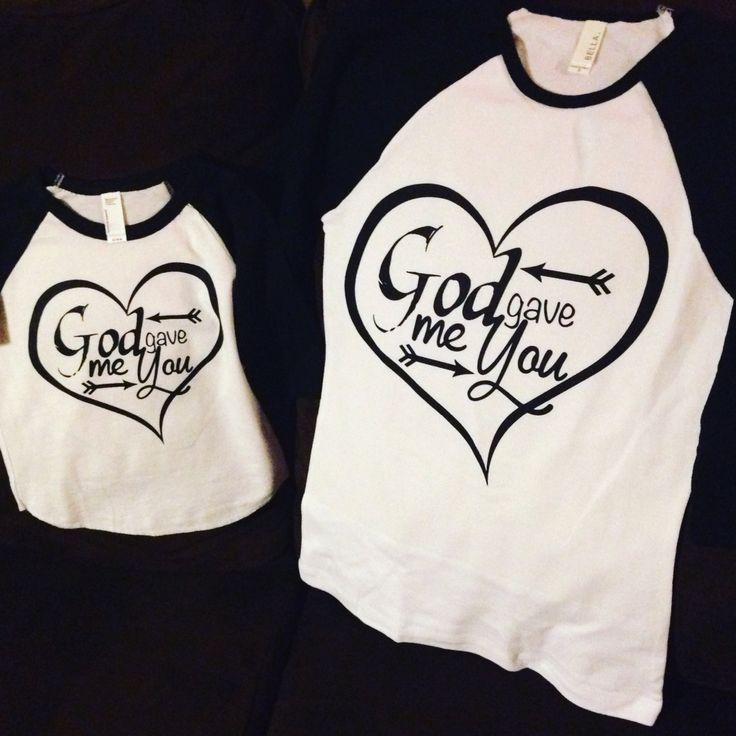 God Gave me you mommy and me baseball tshirts. #DIY #funtshirts Send a DM on instagram @memergie