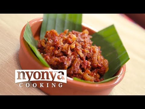 Sambal (Malaysian Hot and Spicy Condiment) - YouTube