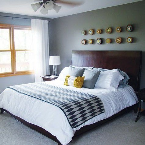 A Chic, Hip Bedroom Retreat For Busy and Stylish Parents