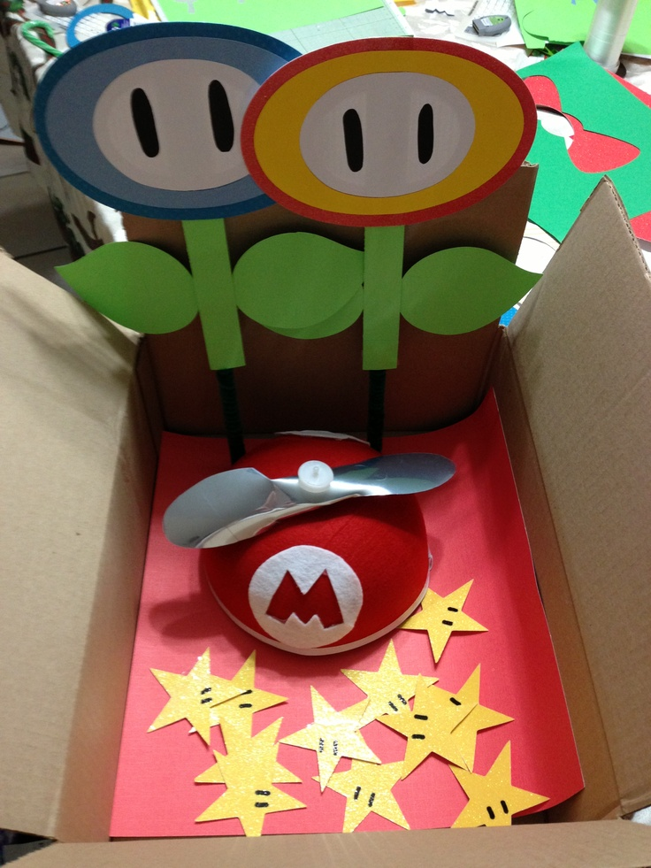 Mario Crafts Made With The Cricut Feeling Crafty In