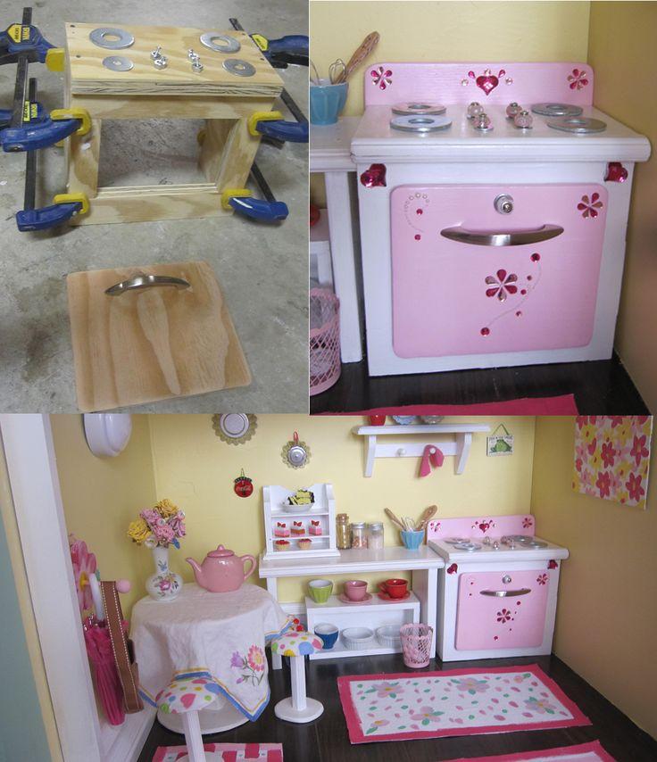 77 Best DIY Kitchen- Inspiration For American Girl