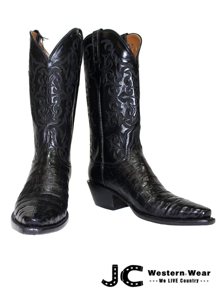 Today, Lucchese manufactures handmade leather boots; however, the company's retail stores have expanded into Western apparel, leather fine goods and jewelry. Description from jcwesternwear.com. I searched for this on bing.com/images