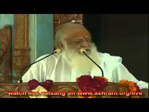 Navratri Vrat and poojan vidhi  Asaram ji Bapu 6th April Morning 2011 sa...