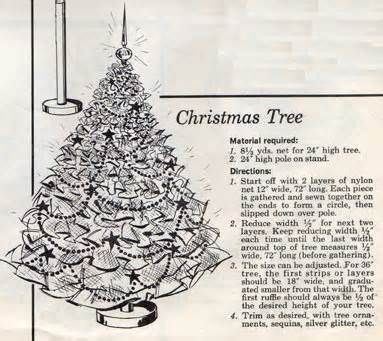 Image detail for -Vintage Tulle Christmas Tree | Flickr - Photo Sharing!