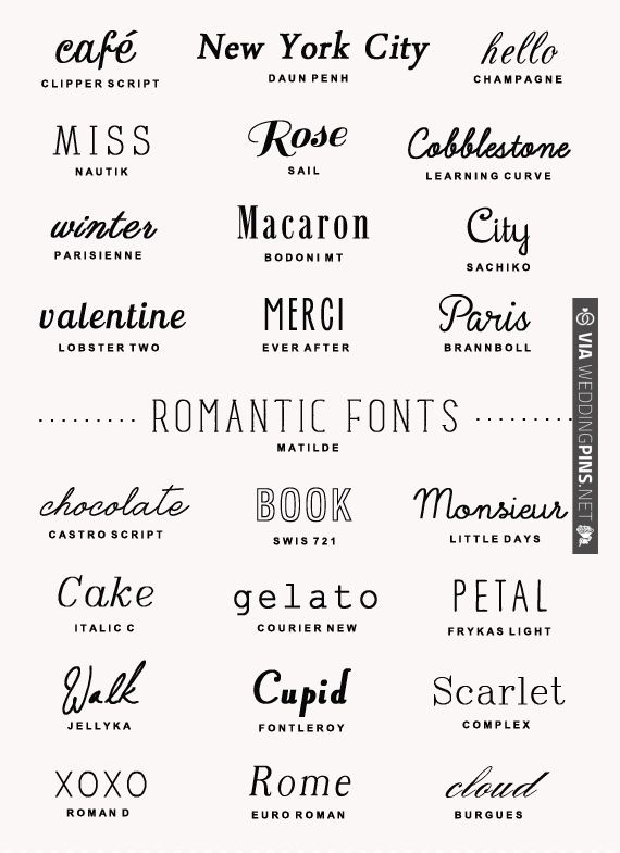 25 Free Romantic Fonts | CHECK OUT MORE IDEAS AT WEDDINGPINS.NET | #weddings #diyweddings #diy