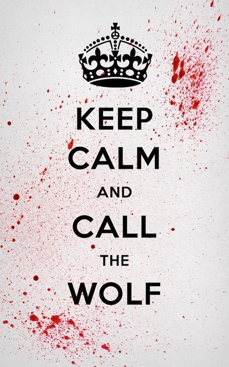 Keep Calm and Call the Wolf - Pulp Fiction