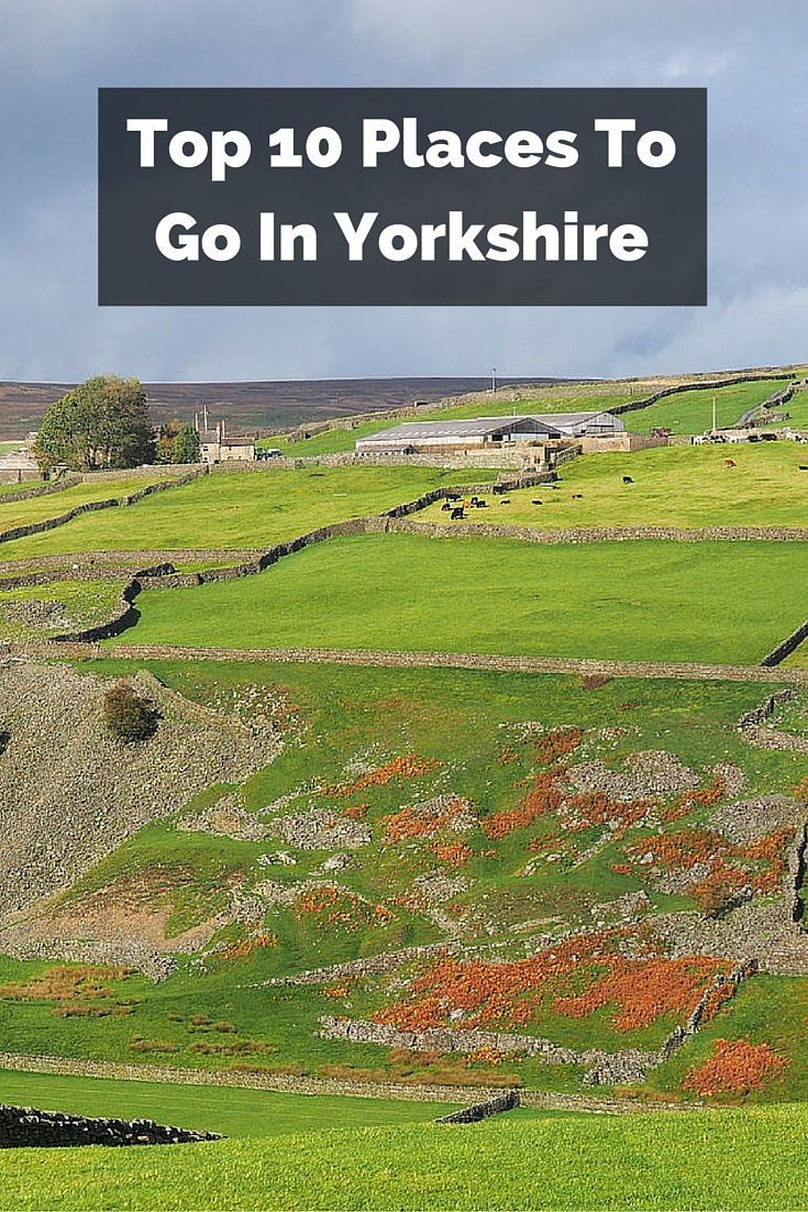 If you are hoping to see some of the most scenic and historical scenery in England, then here are 10 places to go in Yorkshire, the North's largest county.