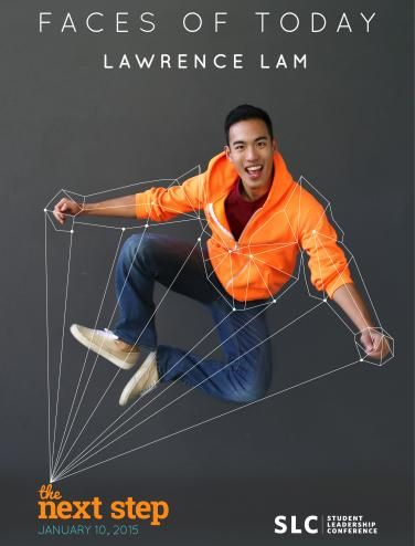 """2014 President of the Materials Engineering Club Lawrence Lam is featured as one of UBC Student Leadership Conference's """"Faces of Today"""" - a group of outstanding student leaders who are dedicated to building and enhancing the UBC community."""