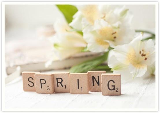 Spring, spring, spring!