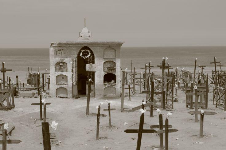 Sorprendente y hermoso Cementerio de Gatico