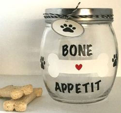 Fun Dog Treat Jars  BooBoo.Fashion