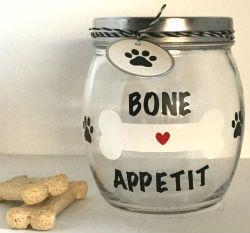 Fun Dog Treat Jars
