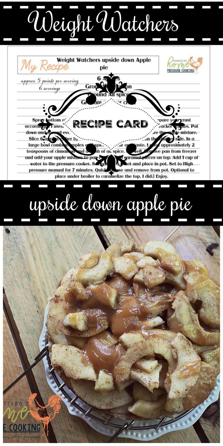 Weight watchers friendly upside down apple pie. I really didn't know what to call this recipe. I sort of winged it and made it up. I am not saying this has never been done before somewhere out there. I had a fresh bag of apples on hand and was in the mood for something sweet. I started my Weight Watchers plan last...Read More
