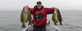 You can find some great smallmouth bass fishing in late fall and early winter looking deep and using these tactics.
