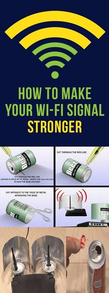 How to make your wifi signal better