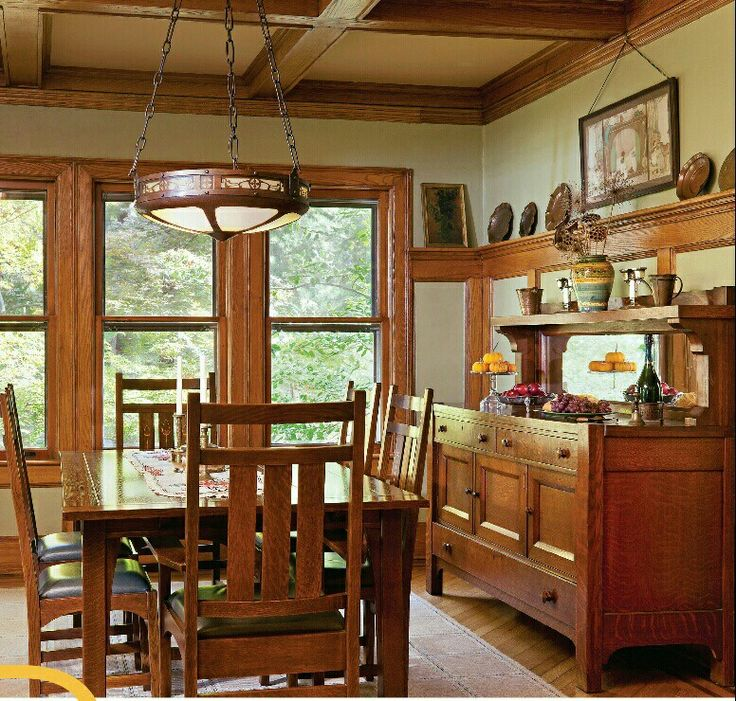 1112 Best Craftsman Bungalow Interiors Images On Pinterest