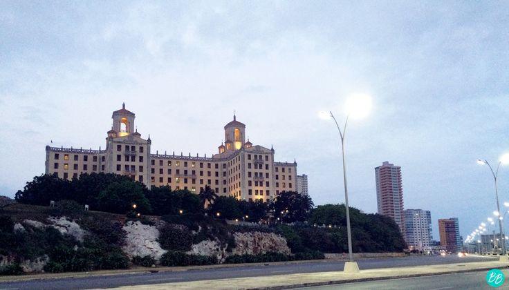 Hotel Nacional, desde el Malecón