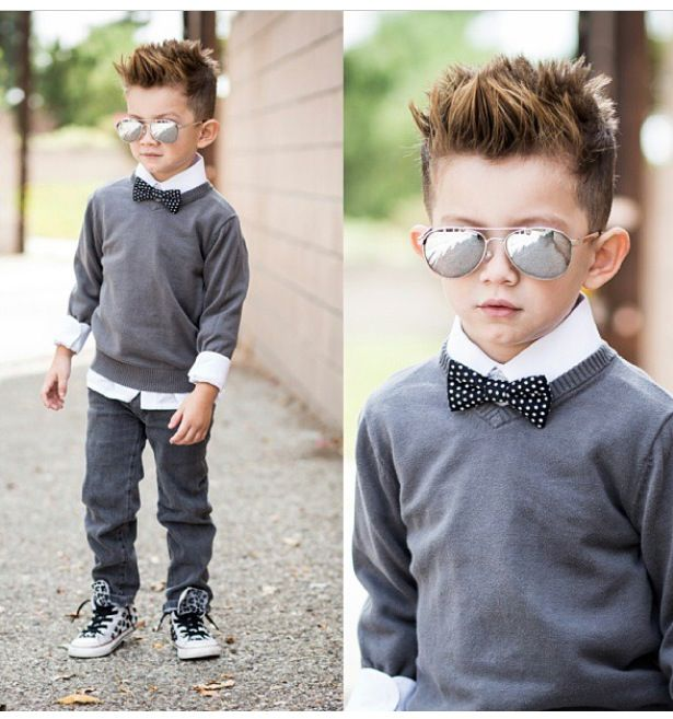 So freaking adorable... Him and mommy need to match one day! <3