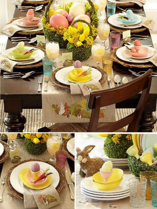Easter Tablescape Inspiration