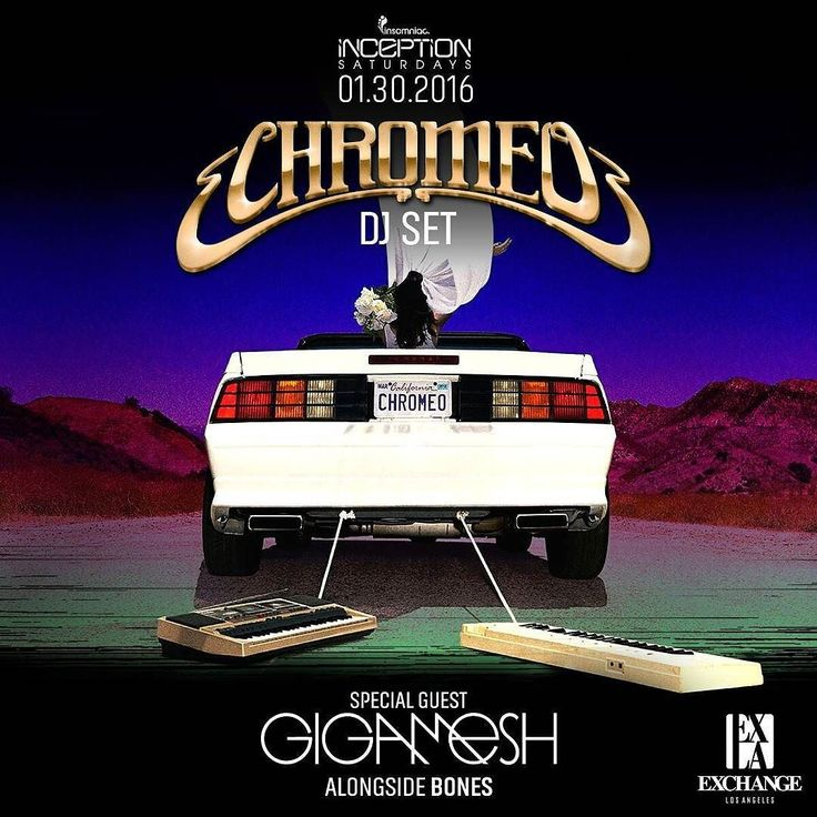 PRICE INCREASE SOON Tix at: http://ift.tt/UTarqH  1/30 #Chromeo  #GigaMESH  #Bones  Purchase at http://ift.tt/UTarqH and RECEIVE promo codes deals and guestlist  info if available.  OrangeCounty/LA Based Contact: (623)824-5141 or OneOriginalMAC@gmail.com for  Guestlist/Discount Tickets/Bottle Service  #InsomniacEvents #DTLA #LosAngeles #CSUF #SutraOC  #CSULA #CSULB  #CreateNightClub #FJC #usc #avalonhollywood  #twelve31 #heatoc  #observatoryoc #theregent  #LAX #ucla  #EDC #EDCLV #ExchangeLA…