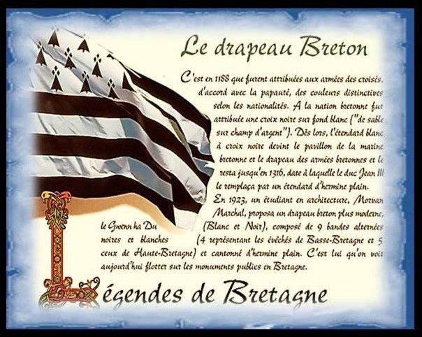 L'histoire de notre drapeau.