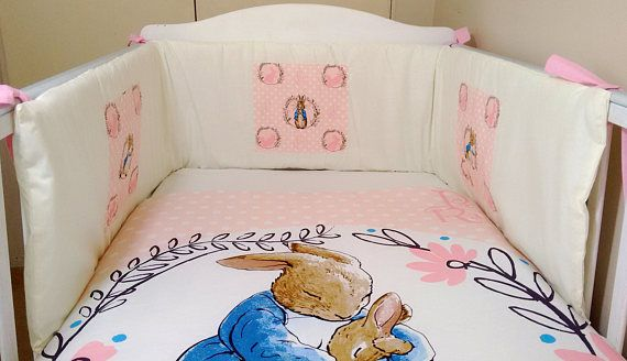 Peter Rabbit Baby Bedding Set Pink And, Peter Rabbit Baby Boy Bedding