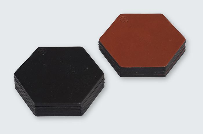 Simplistic and beautifully constructed, these coasters are hand crafted from a single piece of cow leather. Each are cut, brandished and waxed by hand by Klaus Goods in their Melbourne studio.
