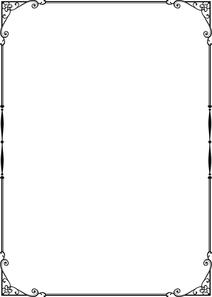 【フリー素材】フレーム集4 5 フレームデザイン Pinterest