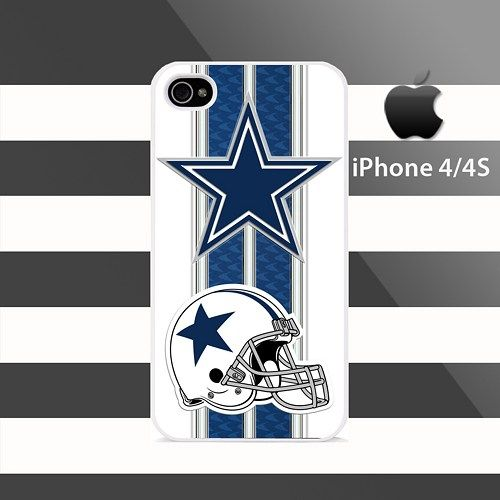 Dallas Cowboys Patterns Stripes iphone 4 4s Rubber Case Cover